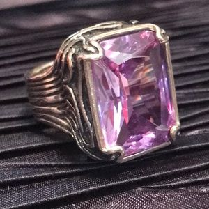 SILPADA .925 Sterling Lavender Fields Ring Size 6